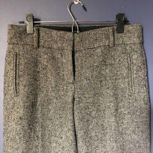 Gray Tweed JCrew Dress pants